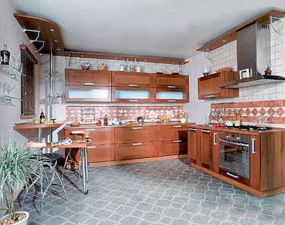 Кухня. Интерьер.